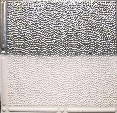 faux tin painted 310 ceiling tile