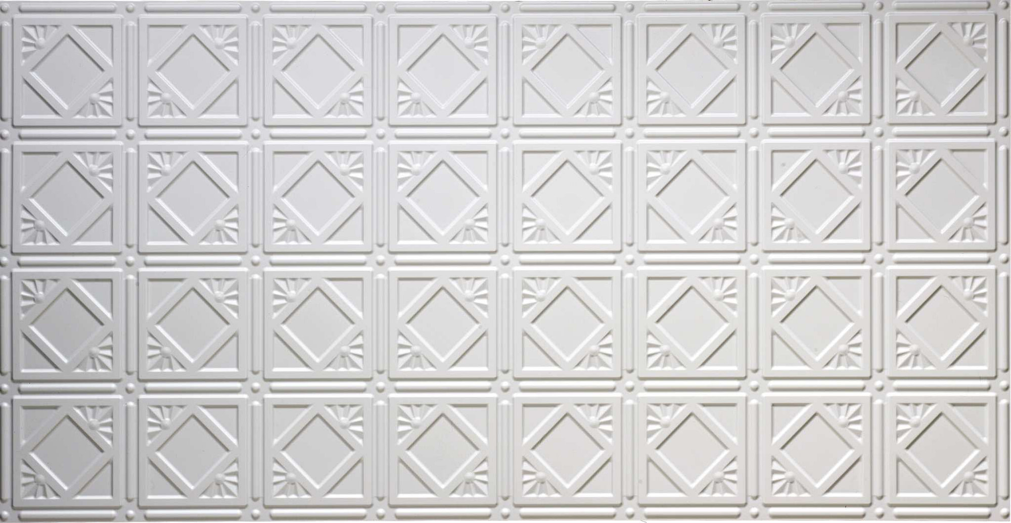 Pattern 207 All Colors 2 X4 Faux Tin Ceiling Tile