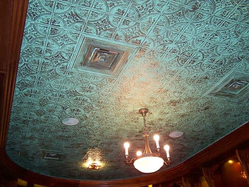 faux tin patina decorative tin ceiling tile