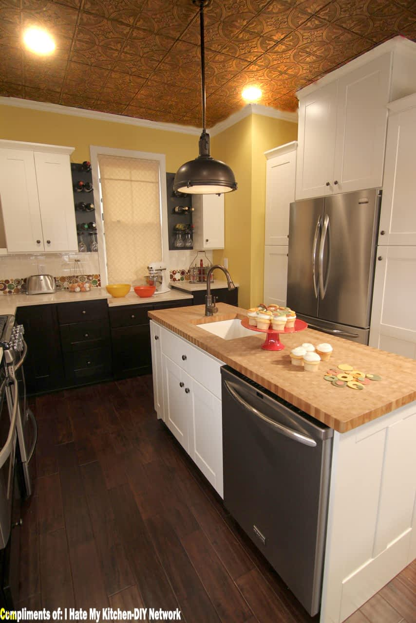 309 Bronze Faux Tin Ceiling Tile Kitchen Ceiling Surfacingsolution