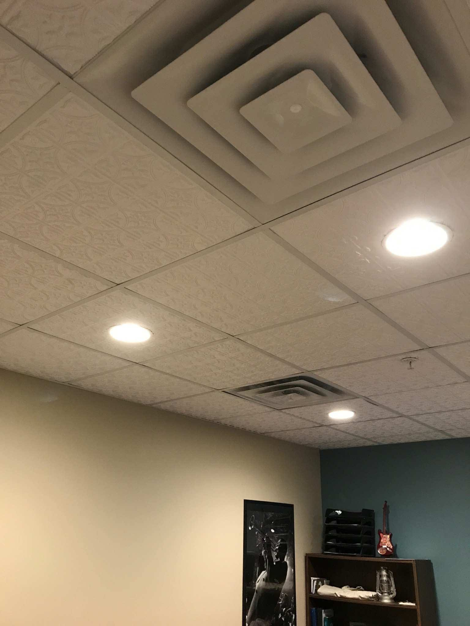 Image of: Lay In Ceiling Tiles For T Grid Surfacingsolution