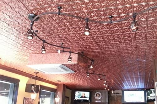 faux tin ceiling tile