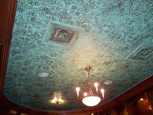 decorative faux tin ceiling tile glue up diy installation