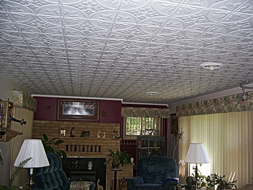 faux tin ceiling tiles decorative tin ceilings